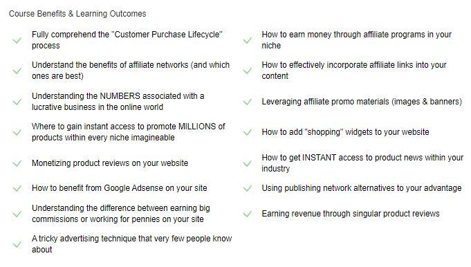Description - The Best Training For Affiliate Marketing