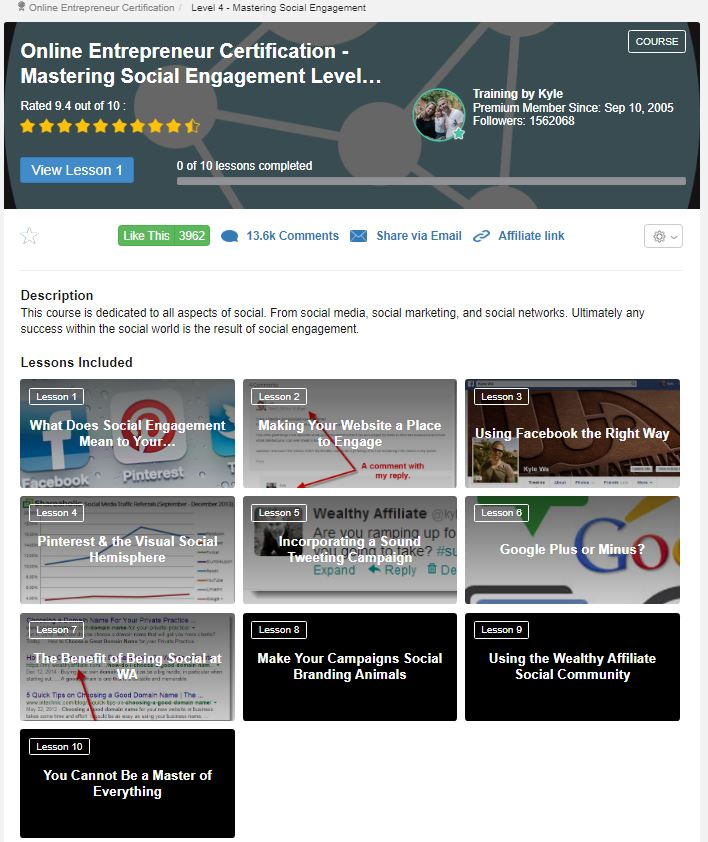 Level 4 - The Best Training For Affiliate Marketing